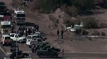A small plane went down near 115th Avenue and Camelback road late Friday morning. By Jennifer Thomas
