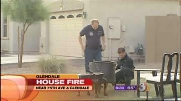 The Glendale home of the man accused of running down his daughter in what's believed to be an honor killing caught fire Friday morning. By Catherine Holland