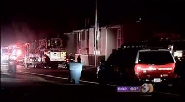 Investigators are trying to determine what sparked an early morning apartment fire in Phoenix. By Catherine Holland