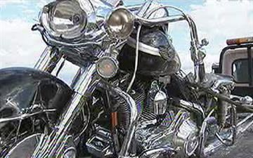 A group of motorcyclists was riding near Tucson when a mattress fell off a pickup truck and hit a motorcycle carrying two off-duty Phoenix police officers. By Jennifer Thomas