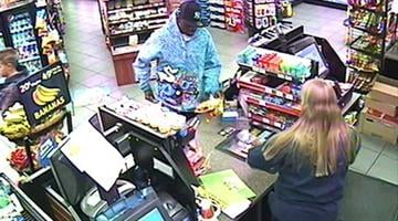 Police are looking for two males who robbed four elderly women and used their credits cards at several locations, including a Circle K store at 43rd and Maryland avenues. By Jennifer Thomas