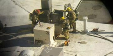 Firefighters say a blaze that broke out at the landmark Durant's steakhouse in central Phoenix on Tuesday was quickly controlled. By Jennifer Thomas