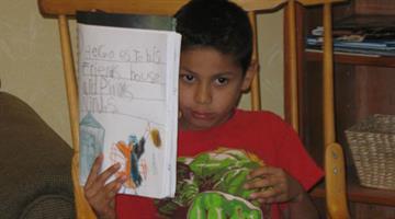 Aldo Rubio was a first-grade student at Zaharis Elementary School. By Jennifer Thomas