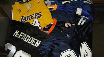 Counterfeit jerseys By Jennifer Thomas
