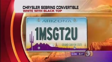 James Jay Keefer was last seen driving a 2005 Chrysler Sebring convertible with the Arizona license plate 1MSGT2U. By Jennifer Thomas