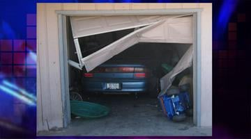 An unlicensed teen driver crashed her car into a garage in Cottonwood By Jennifer Thomas
