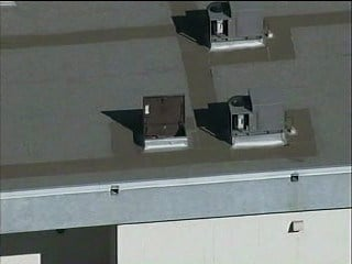 A suspected copper thief was found after he fell through the ceiling at a Phoenix elementary school. By Jennifer Thomas