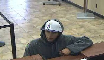 Suspect No. 1 in Jan. 21 robbery at the Chase Bank located at Country Club Drive and Southern Avenue in Mesa By Jennifer Thomas