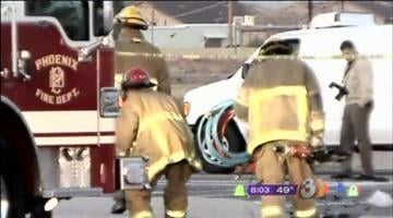 What started as an attempted traffic stop ended with a fatal car wreck in Phoenix early Monday morning. By Catherine Holland