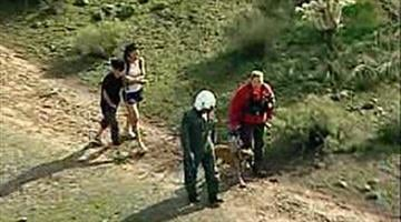 Two hikers missing since Sunday were found safe Monday morning. By Jennifer Thomas