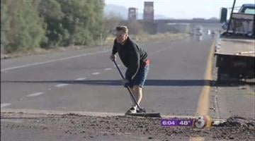 Police are trying to determine what prompted a man to make a fake 911 call that touched off a wild chase and standoff in southern Arizona Sunday afternoon. By Catherine Holland