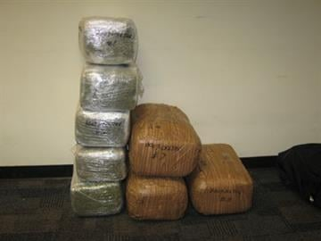 """West Phoenix """"stash house"""" contained weapons and 400 pounds of marijuana By Jennifer Thomas"""