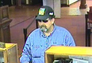 Photo of suspect in robbery at Bank of America near Scottsdale Road and Lincoln Drive By Jennifer Thomas