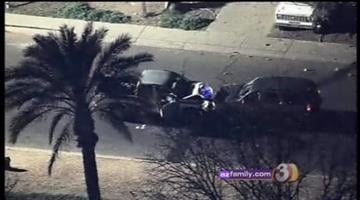 Scottsdale police detectives shot and wounded a suspect who allegedly tried to run them down late Wednesday night. That suspect is in critical condition at St. Joseph's Hospital. By Catherine Holland