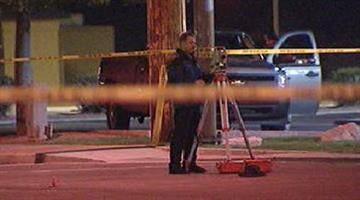 Driver initially flees scene after striking pedestrian. By Alicia Barron