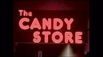 The Candy Store Show Club was the site of a raid Thursday night. By Fox 11 News
