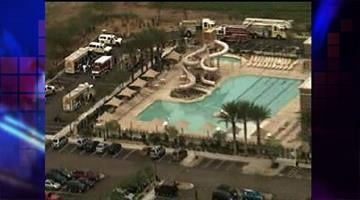 Chlorine splashed on three fitness center employees By Jennifer Thomas