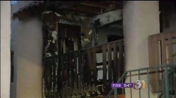Seven people are displaced after an early morning apartment fire in Glendale. By Catherine Holland