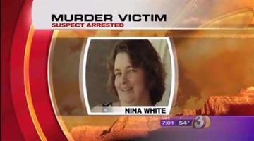 Nina White was shot to death in her driveway in August 2004. By Catherine Holland
