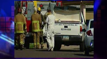Phoenix firefighters were called out to a bee attack near 10th Avenue and Bell Road Wednesday afternoon By Jennifer Thomas