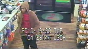 Police release surveillance photo of kidnapping suspect. By Alicia Barron
