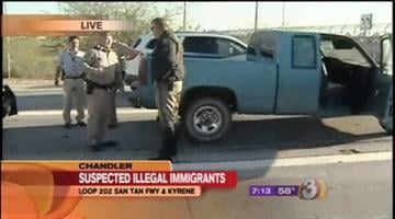 The Department of Public Safety pulled over two vehicles believed to be carrying undocumented immigrants Tuesday morning. By Catherine Holland