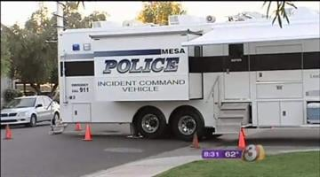 A man is dead and his ex-wife is behind bars after a three-hour standoff late Wednesday night. By Catherine Holland