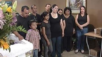 Family was unable to bury grandmother. By Alicia Barron