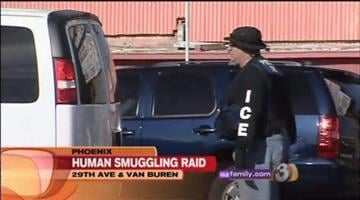 Immigration and Customs agent here in the Valley are taking part in a nationwide and international raid as part of a human smuggling investigation. By Catherine Holland