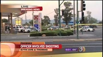 Phoenix police are investigating an early morning officer-involved shooting. It happened at about 5 a.m. at the Circle K at 67th Avenue and Thomas Road. That intersection is closed. By Catherine Holland