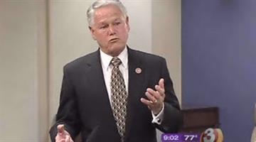 Interim Maricopa County Attorney Mitt Romley. By Alicia Barron
