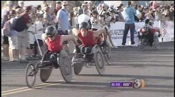 Thousands of people turned out Saturday for the 6th Annual Pat's Run in Tempe, honoring Pat Tillman, the Sun Devils and later Cardinals football player who gave up a promising NFL career to serve his country after the 9/11 attacks. By Catherine Holland