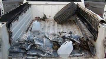 Almost 1,000 lbs. of pot busted at Willcox checkpoint. By Alicia Barron