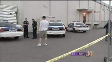Police are searching for a suspect after a body was found at a Phoenix business early Thursday morning. By Catherine Holland
