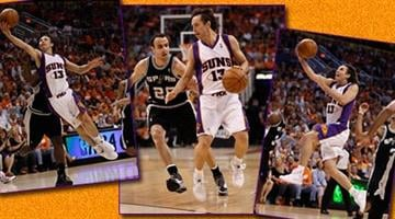 Any doubt that Steve Nash would be slowed by an injury ended in the early minutes of the game. By Catherine Holland