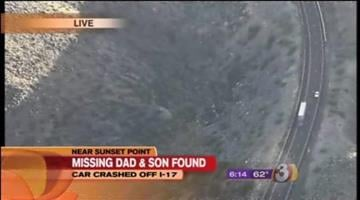 The bodies of a Chandler man and his young son who disappeared on Friday have been found off of Interstate 17 north of Black Canyon City. By Catherine Holland