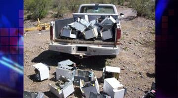 Deputies found abandoned truck containing stolen electrical boxes By Jennifer Thomas