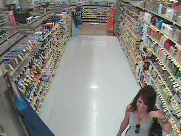 Robbery suspect approached elderly woman in hair care aisle of grocery store By Jennifer Thomas