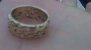 Ring similar to the one that was stolen. By Alicia Barron