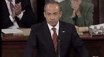 Mexican President Felipe Calderón By Alicia Barron