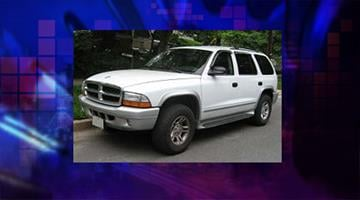 The suspect vehicle is a Dodge Durango similar to this one. By Jennifer Thomas