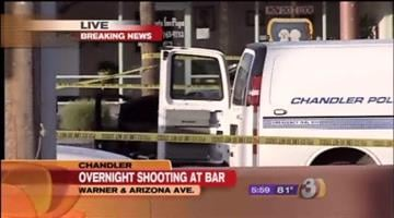 Detectives are trying to piece together exactly what happened after a fight at popular Chandler bar ended with a deadly gun battle overnight. By Catherine Holland