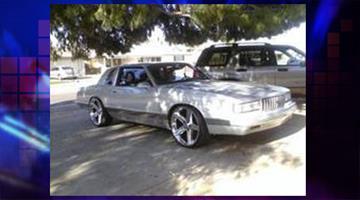 Victim's vehicle By Jennifer Thomas