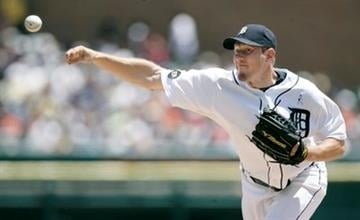 Detroit Tigers starter Max Scherzer pitches against the Arizona Diamondbacks in the third inning of an interleague baseball game Sunday, June 20, 2010, in Detroit. (AP Photo/Duane Burleson) By Duane Burleson
