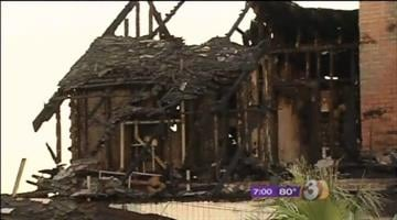 Residents of a Central Phoenix apartment complex were forced to evacuate overnight because of a nearby fire at a boarded-up historic home. By Catherine Holland