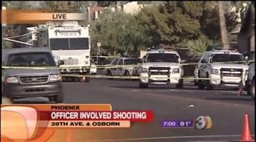 A Valley teen is in the hospital, shot twice by police, after an argument with his younger sister got out of control and he got a gun. By Catherine Holland