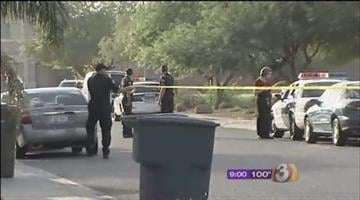 A West Phoenix man was shot several times during a home-invasion style robbery early Friday morning. By Catherine Holland
