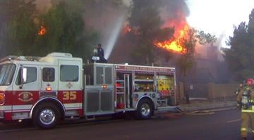 Several Phoenix residents are left with nothing after a fire tore through not one, but two apartment building Saturday morning. By Catherine Holland