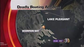 A woman was killed and at least three other people were hurt when two boats collided on Lake Pleasant Saturday evening. It happened near Scorpion Bay. By Catherine Holland