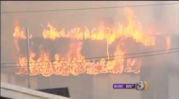 Police says teens might be responsible for a trio of fires sparked in Central Phoenix Monday morning. By Catherine Holland
